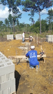 Belize Eco Village Construction