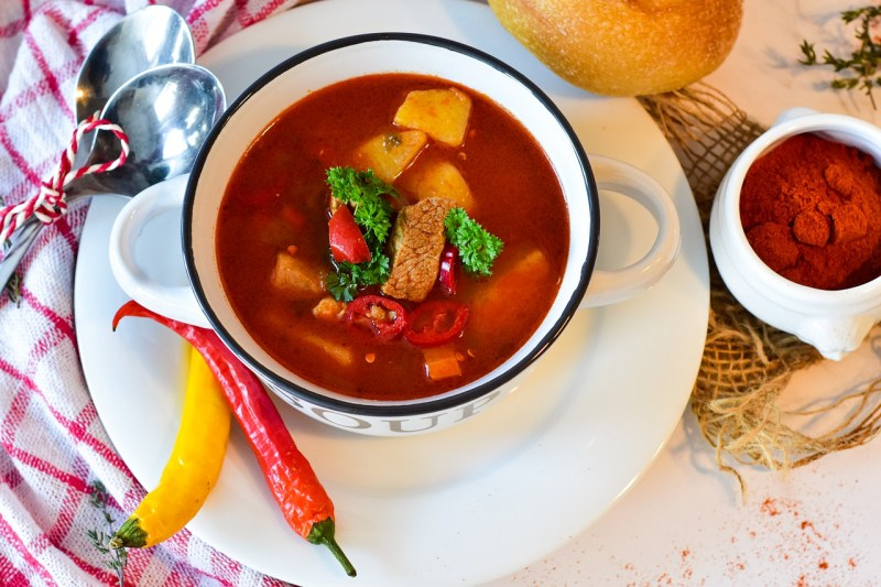 Goulash Soup Dish Food