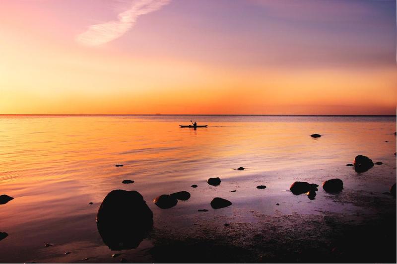 Peaceful Ocean Sunset