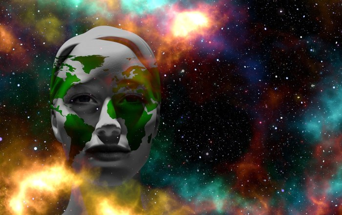 Mother Earth Earth Universe Face