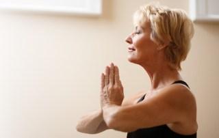 Woman Adult Yoga Zen Meditate