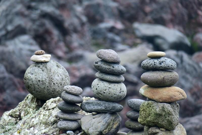 Stones Pebbles Stack Balance Zen