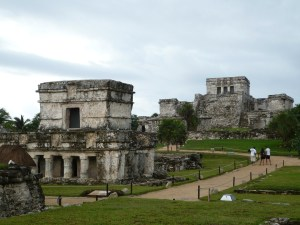 the ruins of Tulum