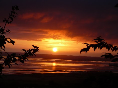 ireland sunrise