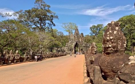 angkor thom - gate