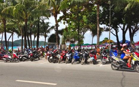 patong beach gals