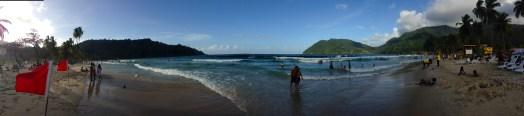 maracas beach panorama
