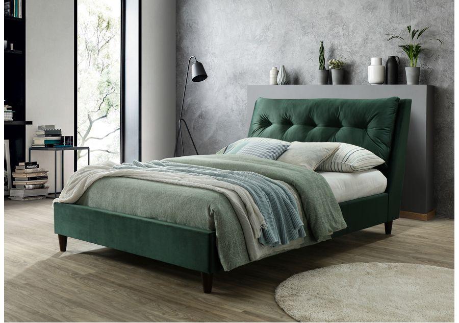 megan bed frame green