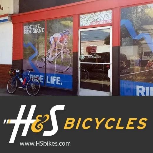 h&s Bikes website
