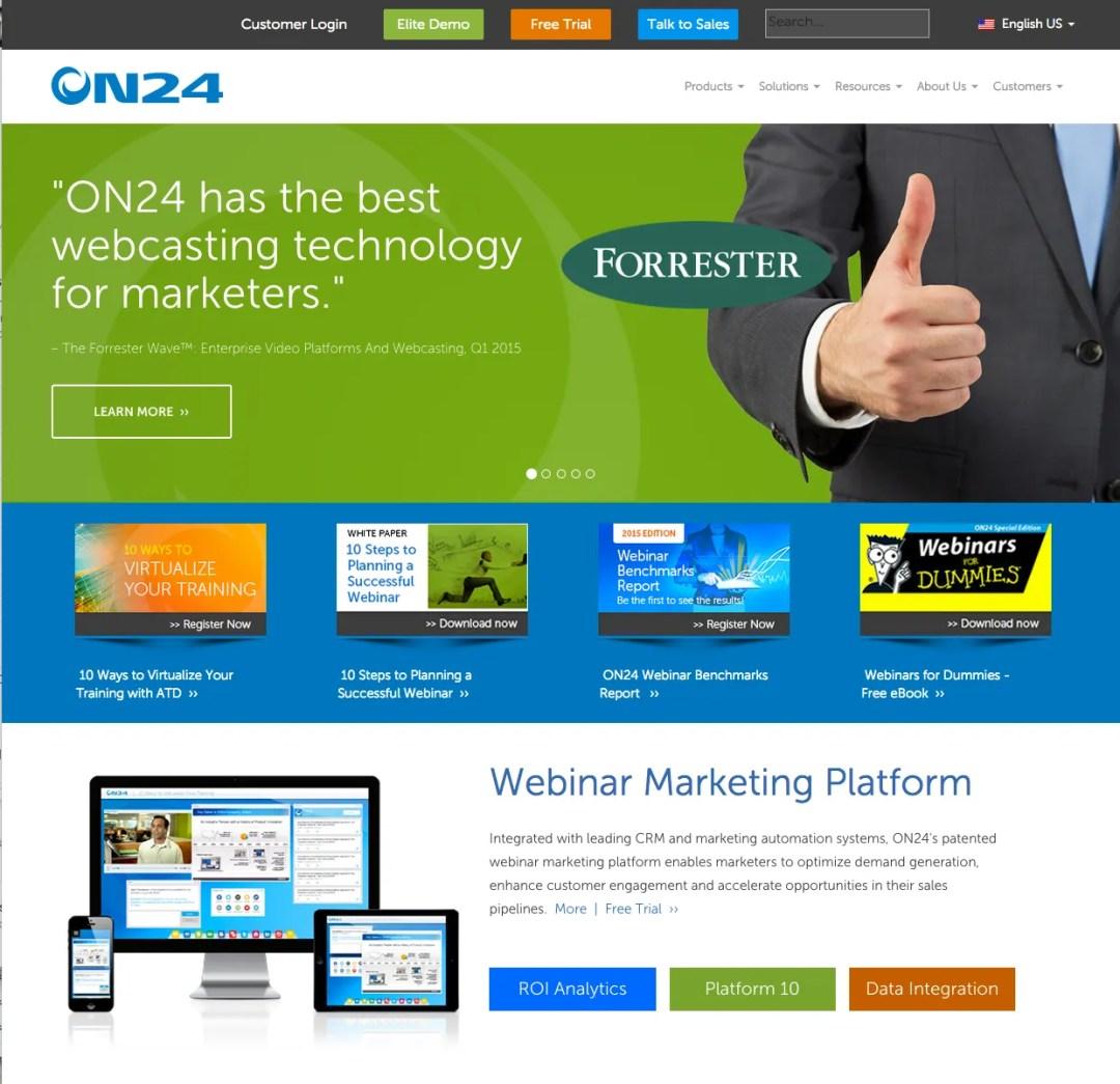 Web Development ON24.com