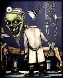 dr stein monster lab mad scientist