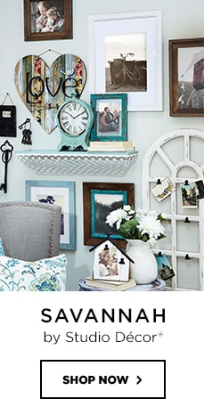 Brown Salvage Chic Frame Expressions By Studio Décor