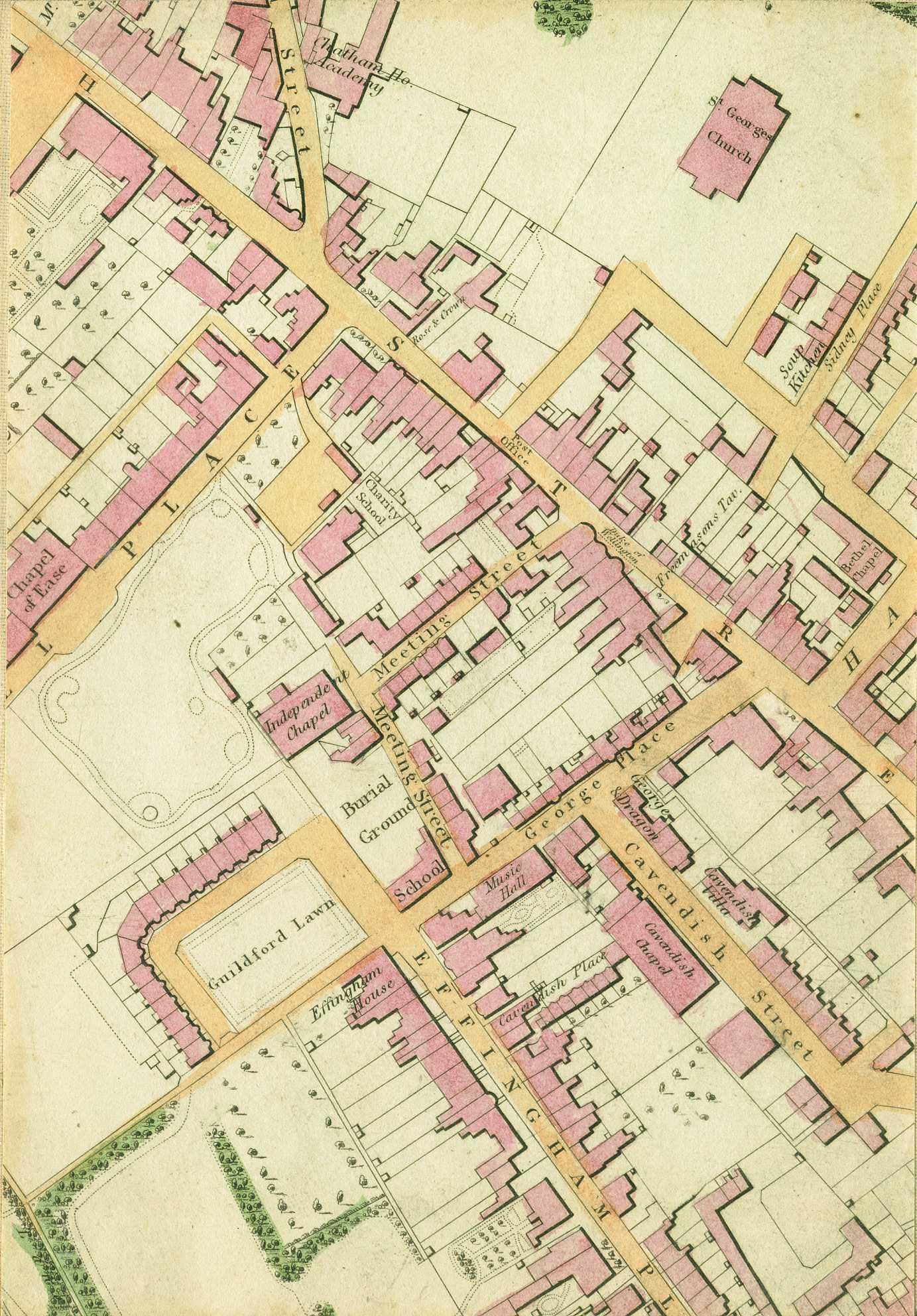 1849 Map Of Ramsgate