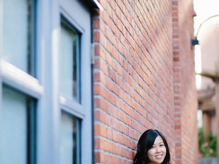 meelin's portrait in Vancouver