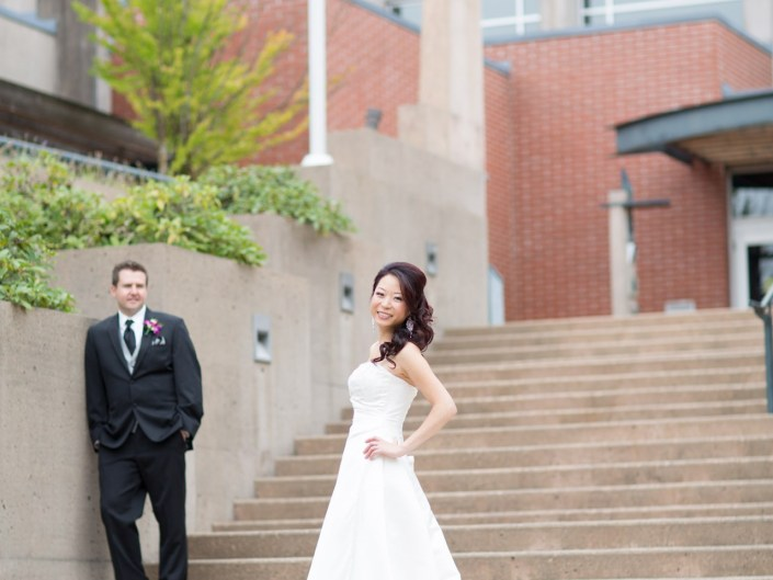 port coquitlam city hall wedding photos