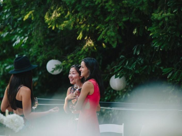 kim's backyard wedding reception 4