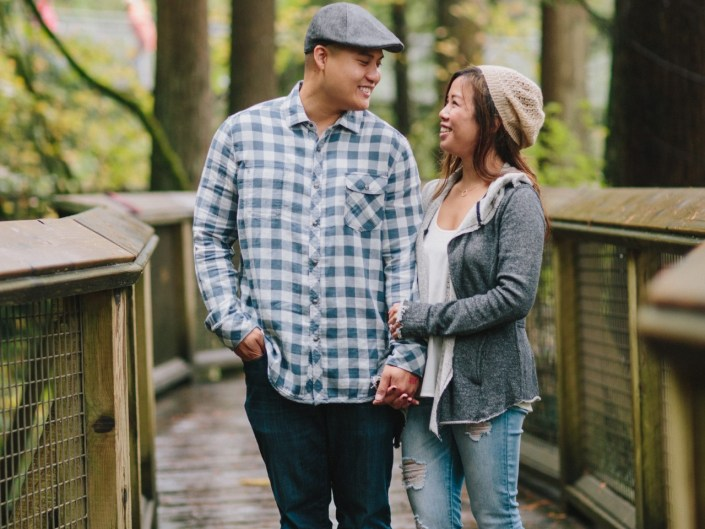 capilano suspension bridge engagement north vancouver