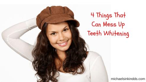 teeth whitening, michael sinkin