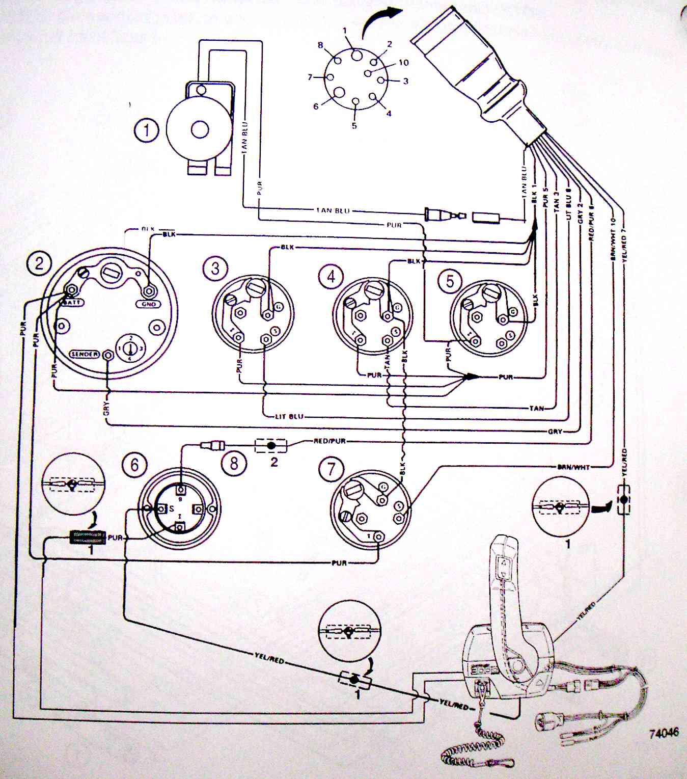 455 jet boat wiring diagram