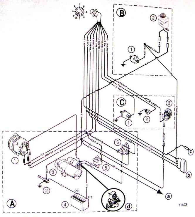 mercruiser fuel pump wiring diagram wiring diagram i have a volvo penta 4 3gl in my boat believe it is 1994 140 mercruiser diagram source