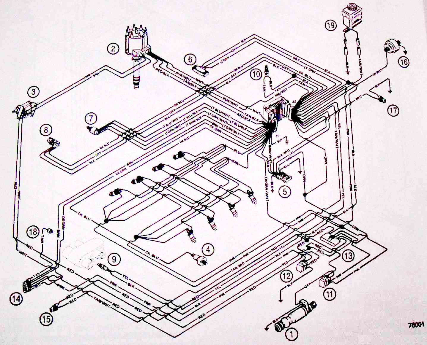 howell tbi wiring diagram tbi fuel injection wiring