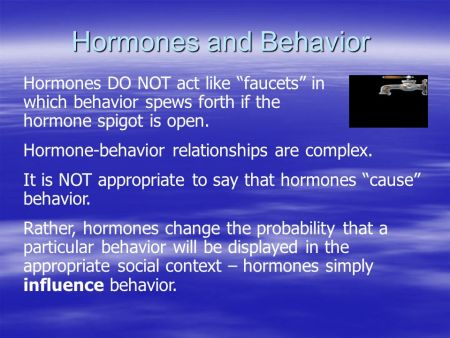Hormones In Relationships - Are You a 'Testosterone' or a