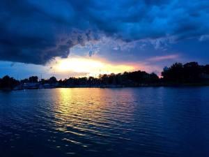 2016 sunset clouds