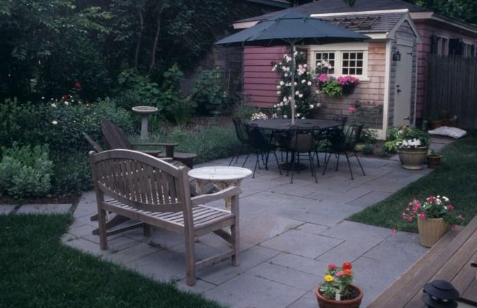 patio prep