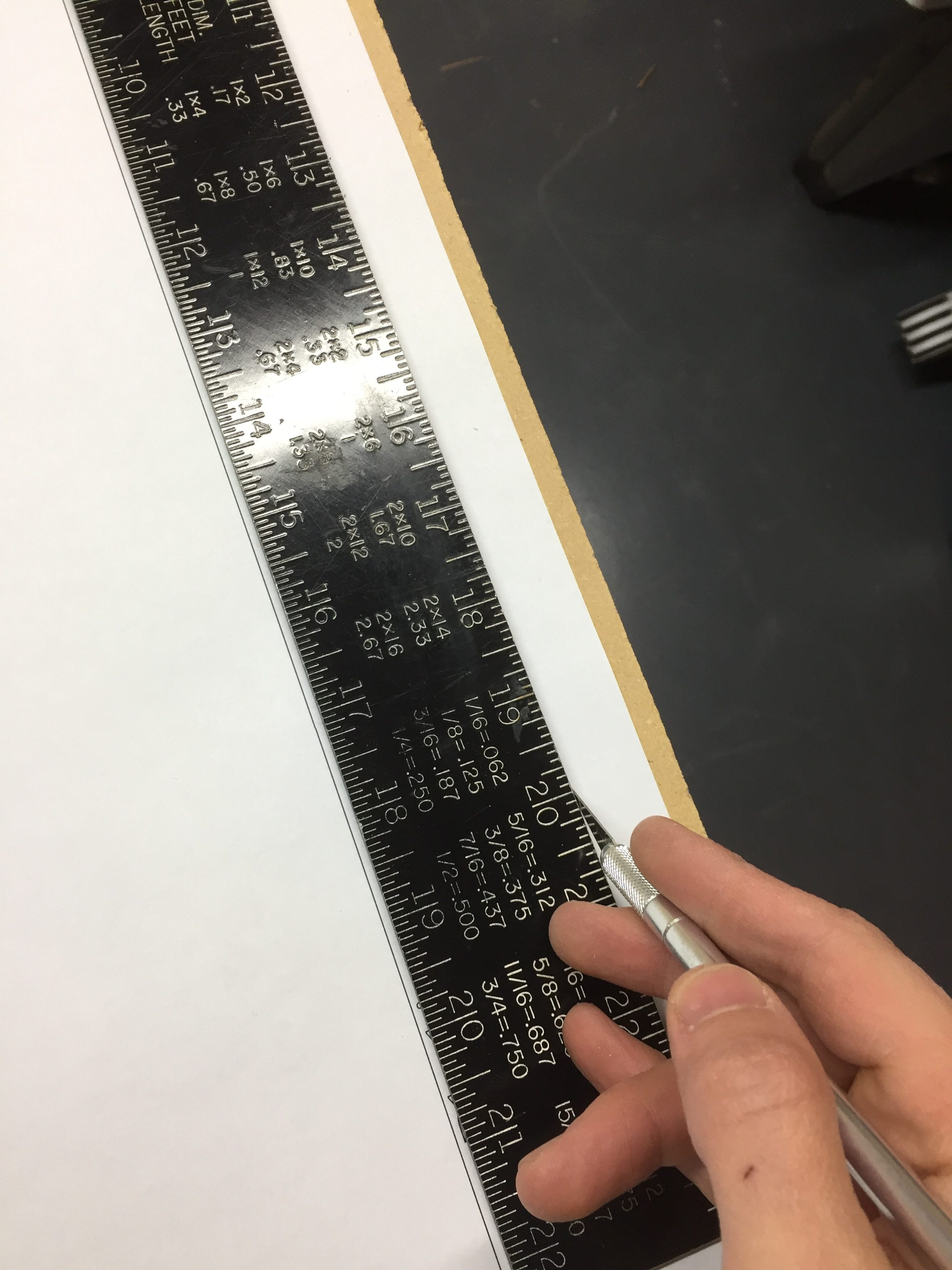 Donkey Kong Arcade Machine: Trimming the Template