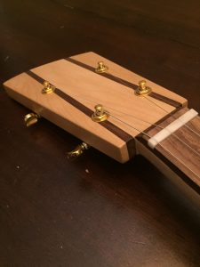 Punch Cigar Box Guitar Review - Neck Angle