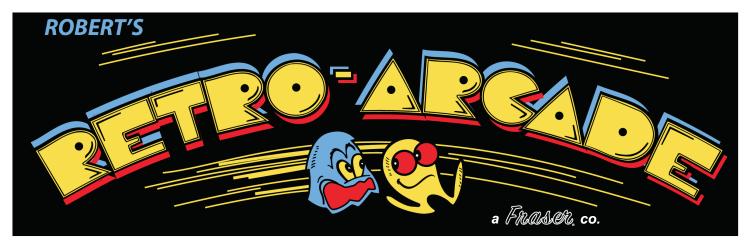 Pac-Man Arcade Marquee