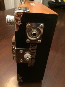 CLE Cigar Box Guitar Review - Instrument Jack Detail