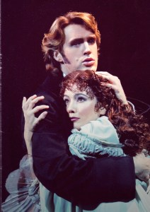 Michael Xavier as Raoul in Phantom with Katie Knight Adams (Clive Barda)