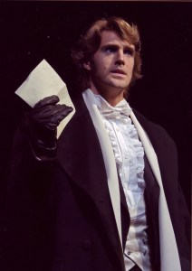 Michael as Raoul in The Phantom of the Opera (Clive Barda)