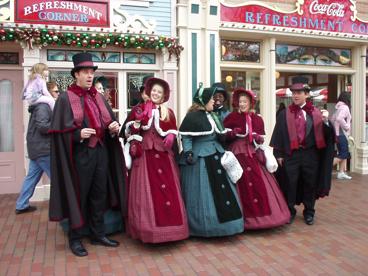 Christmas Caroling Through Time: From Fur Capes to Fistfights – The ...