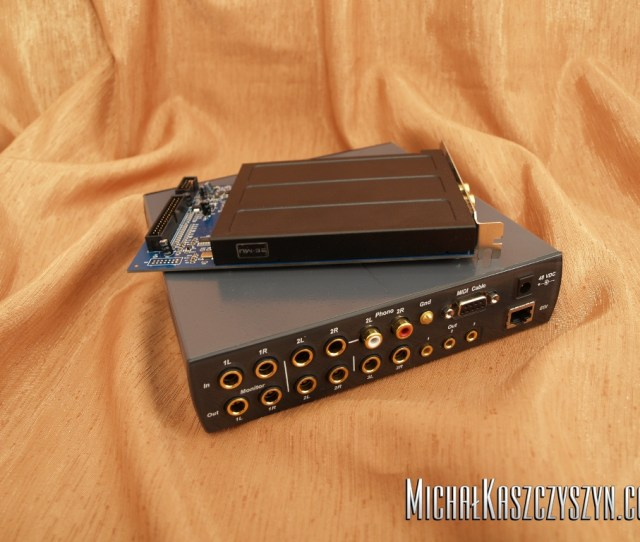 E Mu 1616m Pci E Audio Interface Review