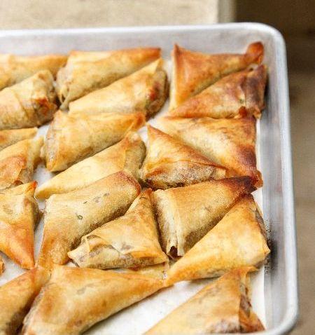 מינימום שמן, מקסימום פריכות / פסטלים אפויים בתנור בשלל מילויים