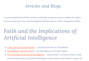 Articles and Blogs page image