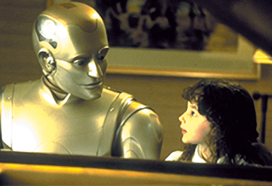 Bicentennial Man at the Piano