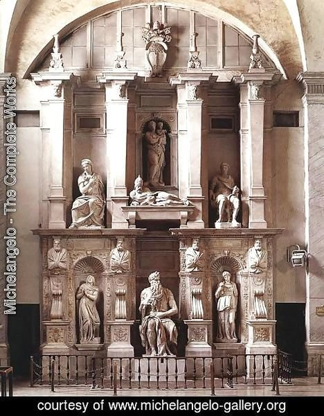 Michelangelo - Tomb of Pope Julius II