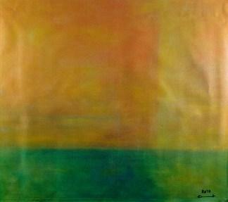 Ölbild von Raphael Walenta aus dem Jahr 2010 Ohne Titel © by Raphael Walenta