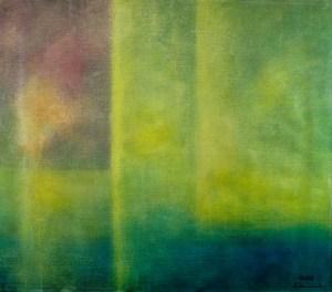 Ölbild von Raphael Walenta aus dem Jahr 2008 Ohne Titel © by Raphael Walenta