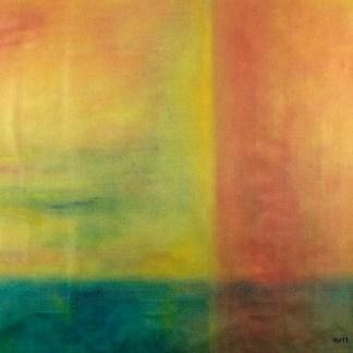 Ölbild von Raphael Walenta aus dem Jahr 2011 Ohne Titel © by Raphael Walenta