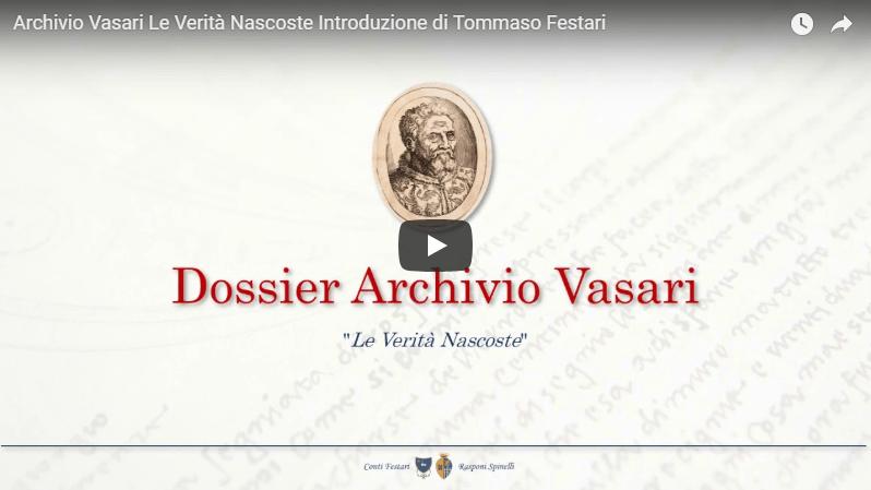 Archivio Vasari – Le Verità Nascoste – Introduzione di Tommaso Festari
