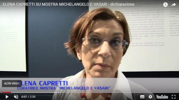 Intervista con Elena Capretti – Mostra Michelangelo e Vasari