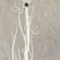 Abysse - Collage 40x120cm - VENDU