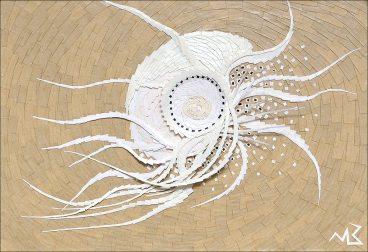 Bestiole - Micro-collages 14,5x21 cm - VENDU