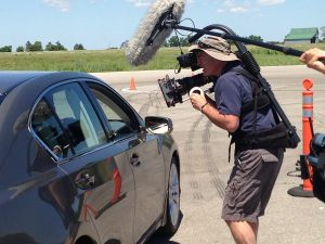 Car shoot with Easy-Rig and Sony F55