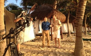 Shooting in Mexico a iTravel spot Sony F55
