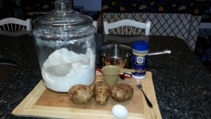 Gnocchi Ingredients 2